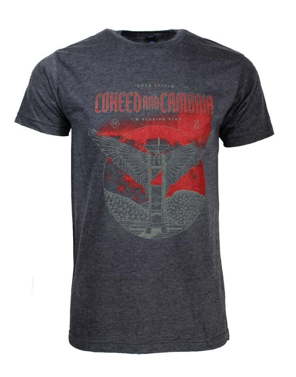 Coheed and Cambria Death Moon T-Shirt - shop.AxeDr.com - Best Band T-Shirts, Vintage Rock and Roll T Shirts, Metal Band T-Shirts, Punk T Shirts - Men's T-Shirts