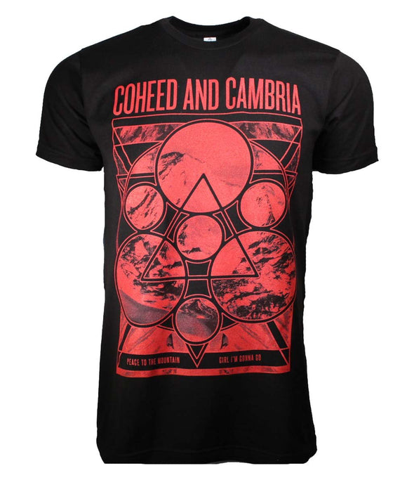 Coheed and Cambria Mountain Peace T-Shirt - shop.AxeDr.com - Best Band T-Shirts, Vintage Rock and Roll T Shirts, Metal Band T-Shirts, Punk T Shirts - Men's T-Shirts
