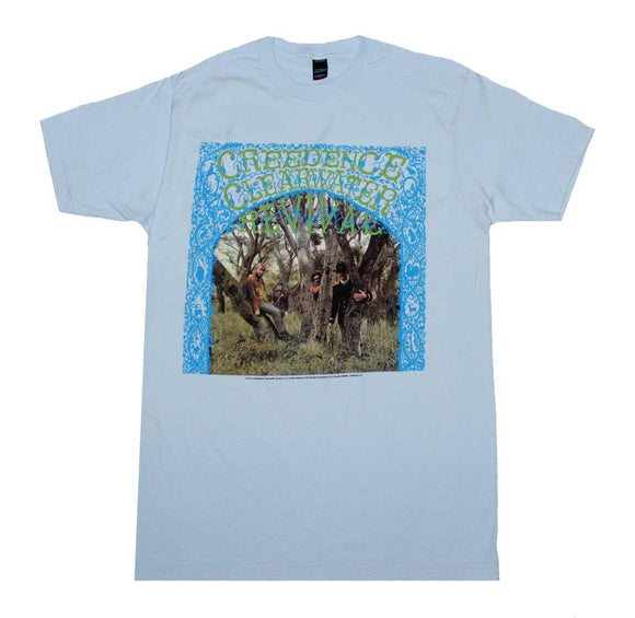 Creedence Clearwater Revival Debut Album T-Shirt - shop.AxeDr.com - Best Band T-Shirts, Vintage Rock and Roll T Shirts, Metal Band T-Shirts, Punk T Shirts - Men's T-Shirts