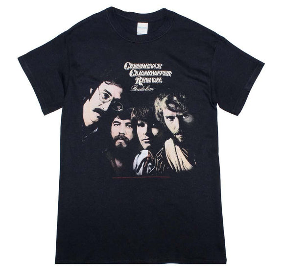Creedence Clearwater Revival Pendulum T-Shirt - shop.AxeDr.com - Best Band T-Shirts, Vintage Rock and Roll T Shirts, Metal Band T-Shirts, Punk T Shirts - Men's T-Shirts