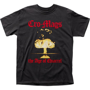 Cro-Mags Age of Quarrel T-Shirt - shop.AxeDr.com - Best Band T-Shirts, Vintage Rock and Roll T Shirts, Metal Band T-Shirts, Punk T Shirts - Men's T-Shirts