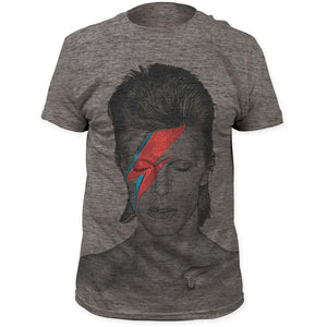 David Bowie Aladdin Sane Triblend T-Shirt - shop.AxeDr.com - Best Band T-Shirts, Vintage Rock and Roll T Shirts, Metal Band T-Shirts, Punk T Shirts - Men's T-Shirts