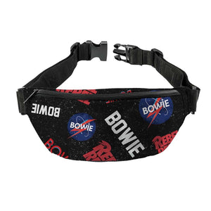 David Bowie Astro Fanny Pack - shop.AxeDr.com - Best Band T-Shirts, Vintage Rock and Roll T Shirts, Metal Band T-Shirts, Punk T Shirts - Fanny Packs