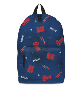 David Bowie Galaxy Classic Backpack - shop.AxeDr.com - Best Band T-Shirts, Vintage Rock and Roll T Shirts, Metal Band T-Shirts, Punk T Shirts - Backpacks
