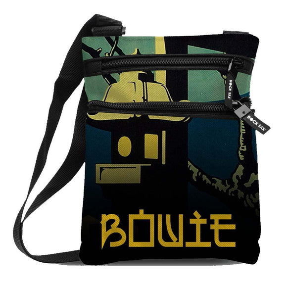 David Bowie Japan Body Bag - shop.AxeDr.com - Best Band T-Shirts, Vintage Rock and Roll T Shirts, Metal Band T-Shirts, Punk T Shirts - Messenger Bags