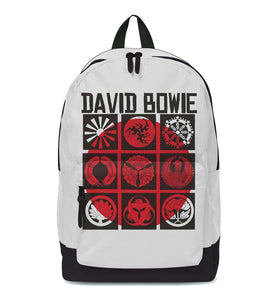 David Bowie Japan Classic Backpack - shop.AxeDr.com - Best Band T-Shirts, Vintage Rock and Roll T Shirts, Metal Band T-Shirts, Punk T Shirts - Backpacks
