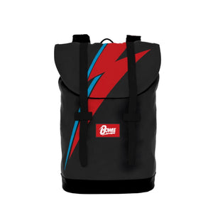 David Bowie Lightning Heritage Backpack - shop.AxeDr.com - Best Band T-Shirts, Vintage Rock and Roll T Shirts, Metal Band T-Shirts, Punk T Shirts - Backpacks