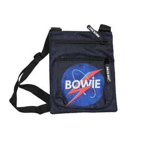 David Bowie Space Body Bag - shop.AxeDr.com - Best Band T-Shirts, Vintage Rock and Roll T Shirts, Metal Band T-Shirts, Punk T Shirts - Messenger Bags
