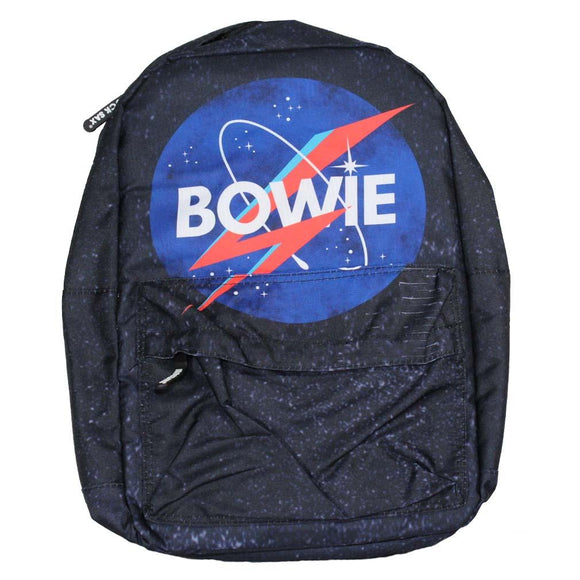 David Bowie Space Classic Backpack - shop.AxeDr.com - Best Band T-Shirts, Vintage Rock and Roll T Shirts, Metal Band T-Shirts, Punk T Shirts - Backpacks