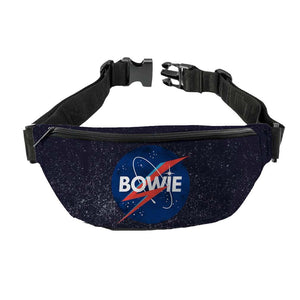 David Bowie Space Fanny Pack - shop.AxeDr.com - Best Band T-Shirts, Vintage Rock and Roll T Shirts, Metal Band T-Shirts, Punk T Shirts - Fanny Packs