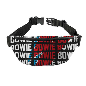David Bowie Warped Fanny Pack - shop.AxeDr.com - Best Band T-Shirts, Vintage Rock and Roll T Shirts, Metal Band T-Shirts, Punk T Shirts - Fanny Packs