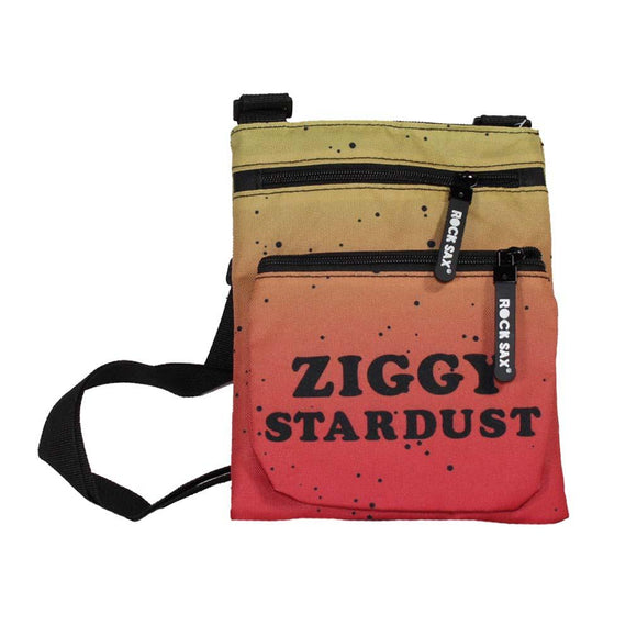 David Bowie Ziggy Stardust Body Bag - shop.AxeDr.com - Best Band T-Shirts, Vintage Rock and Roll T Shirts, Metal Band T-Shirts, Punk T Shirts - Messenger Bags