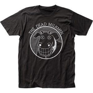 Dead Milkmen Cow Logo T-Shirt - shop.AxeDr.com - Best Band T-Shirts, Vintage Rock and Roll T Shirts, Metal Band T-Shirts, Punk T Shirts - Men's T-Shirts