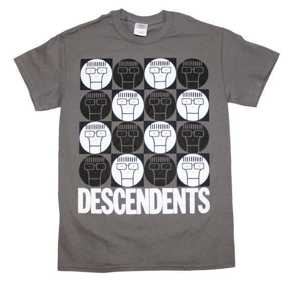 Descendents Milo Circle Pattern T-Shirt - shop.AxeDr.com - Best Band T-Shirts, Vintage Rock and Roll T Shirts, Metal Band T-Shirts, Punk T Shirts - Men's T-Shirts