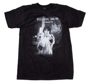 Elliott Smith Either /Or T-Shirt - shop.AxeDr.com - Best Band T-Shirts, Vintage Rock and Roll T Shirts, Metal Band T-Shirts, Punk T Shirts - Men's T-Shirts