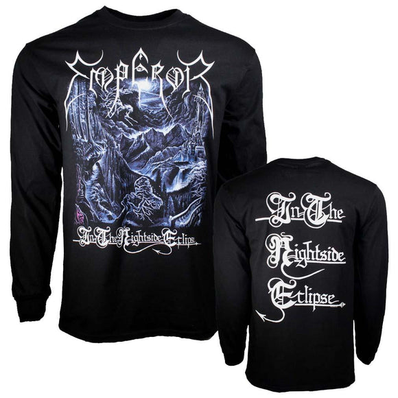 Emperor ITNSE Long Sleeve T-Shirt - shop.AxeDr.com - Best Band T-Shirts, Vintage Rock and Roll T Shirts, Metal Band T-Shirts, Punk T Shirts - Men's T-Shirts