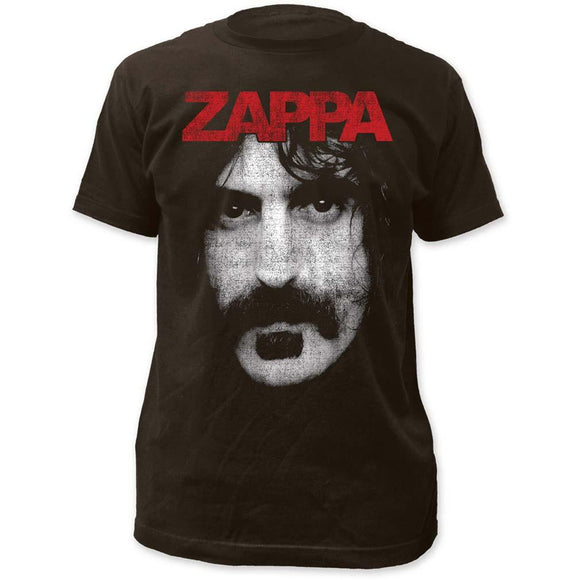 Frank Zappa Zappa Fitted T-Shirt - shop.AxeDr.com - Best Band T-Shirts, Vintage Rock and Roll T Shirts, Metal Band T-Shirts, Punk T Shirts - Men's T-Shirts