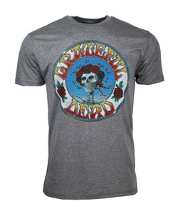 Grateful Dead Skull & Roses T-Shirt - shop.AxeDr.com - Best Band T-Shirts, Vintage Rock and Roll T Shirts, Metal Band T-Shirts, Punk T Shirts - Men's T-Shirts