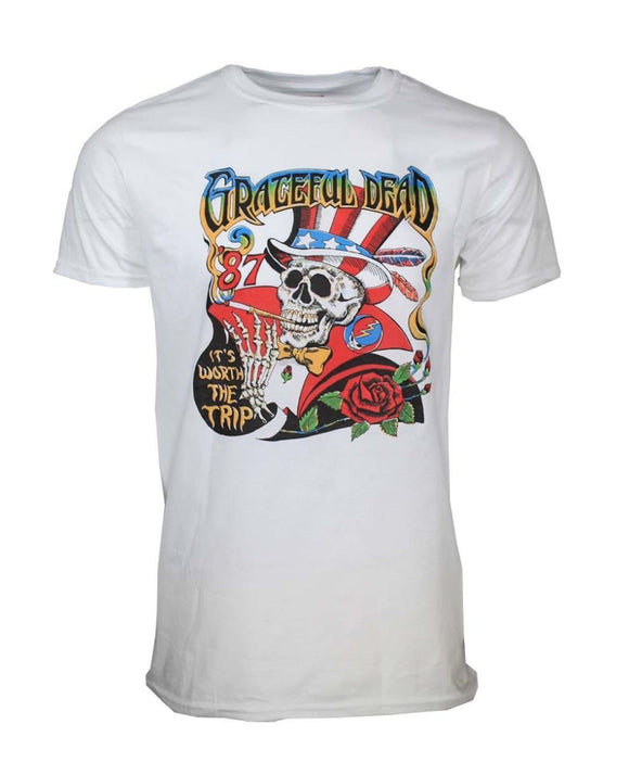Grateful Dead Worth The Trip T-Shirt - shop.AxeDr.com - Best Band T-Shirts, Vintage Rock and Roll T Shirts, Metal Band T-Shirts, Punk T Shirts - Men's T-Shirts