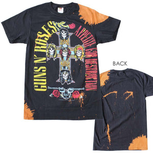 Guns n Roses Appetite Bleach Dyed T-Shirt - shop.AxeDr.com - Best Band T-Shirts, Vintage Rock and Roll T Shirts, Metal Band T-Shirts, Punk T Shirts - Men's T-Shirts