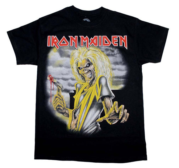 Iron Maiden Killers T-Shirt - shop.AxeDr.com - Best Band T-Shirts, Vintage Rock and Roll T Shirts, Metal Band T-Shirts, Punk T Shirts - Men's T-Shirts