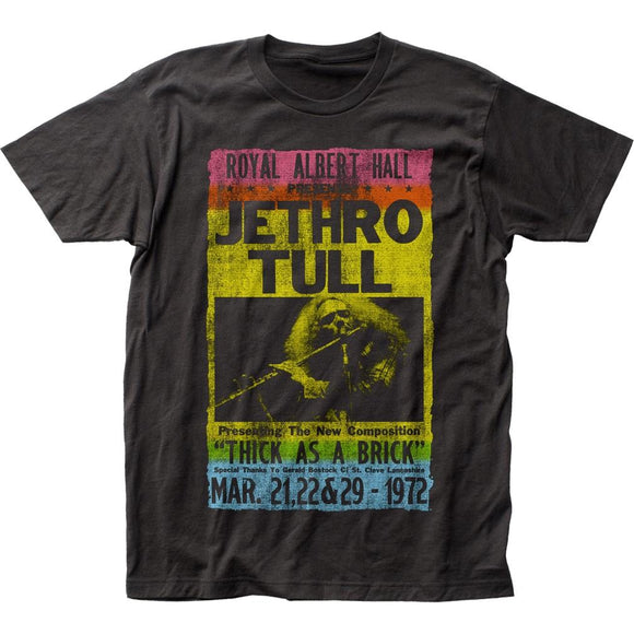 Jethro Tull Royal Albert Hall T-Shirt - shop.AxeDr.com - Best Band T-Shirts, Vintage Rock and Roll T Shirts, Metal Band T-Shirts, Punk T Shirts - Men's T-Shirts