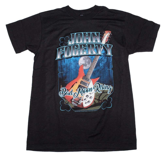 John Fogerty Bad Moon Rising T-Shirt - shop.AxeDr.com - Best Band T-Shirts, Vintage Rock and Roll T Shirts, Metal Band T-Shirts, Punk T Shirts - Men's T-Shirts