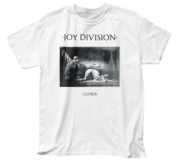 Joy Division Closer Adult T-Shirt - shop.AxeDr.com - Best Band T-Shirts, Vintage Rock and Roll T Shirts, Metal Band T-Shirts, Punk T Shirts - Men's T-Shirts