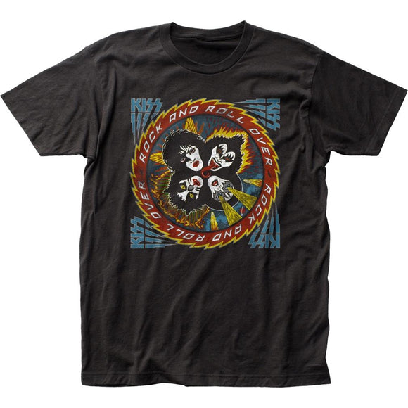KISS Rock and Roll All Over T-Shirt - shop.AxeDr.com - Best Band T-Shirts, Vintage Rock and Roll T Shirts, Metal Band T-Shirts, Punk T Shirts - Men's T-Shirts
