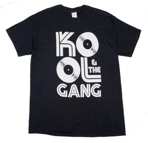 Kool & The Gang Records Logo T-Shirt - shop.AxeDr.com - Best Band T-Shirts, Vintage Rock and Roll T Shirts, Metal Band T-Shirts, Punk T Shirts - Men's T-Shirts