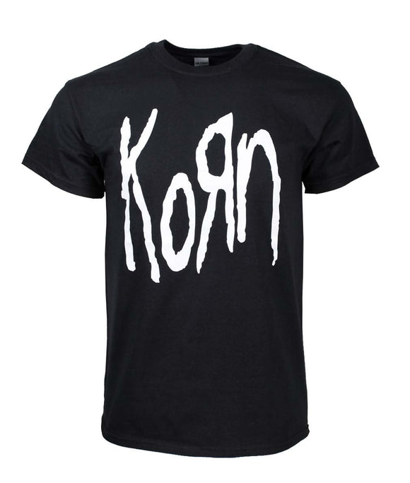 Korn Logo Metal Band T-Shirt