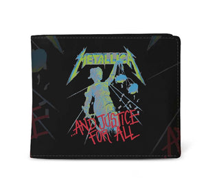 Metallica And Justice for All Wallet