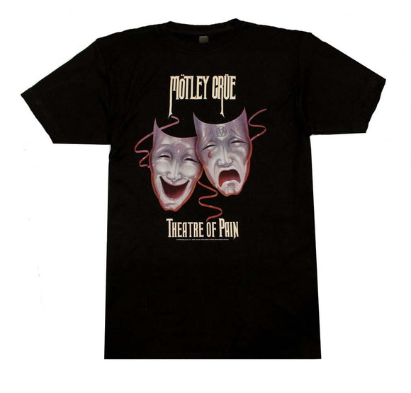 Motley Crue Theatre of Pain T-Shirt - shop.AxeDr.com - Best Band T-Shirts, Vintage Rock and Roll T Shirts, Metal Band T-Shirts, Punk T Shirts - Men's T-Shirts