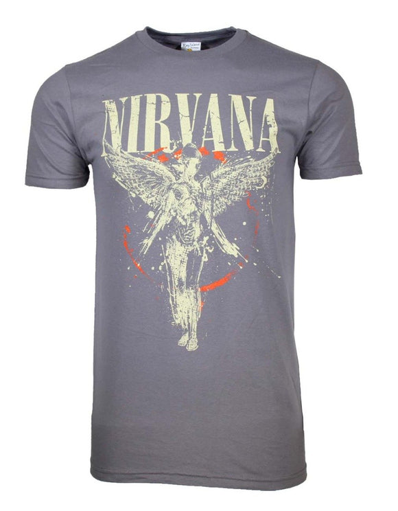 Nirvana Galaxy In Utero T-Shirt - shop.AxeDr.com - Best Band T-Shirts, Vintage Rock and Roll T Shirts, Metal Band T-Shirts, Punk T Shirts - Men's T-Shirts