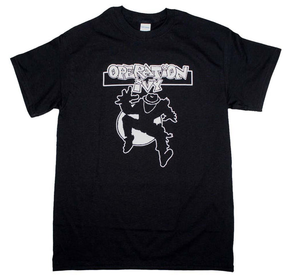 Operation Ivy Classic Ska Man T-Shirt - shop.AxeDr.com - Best Band T-Shirts, Vintage Rock and Roll T Shirts, Metal Band T-Shirts, Punk T Shirts - Men's T-Shirts