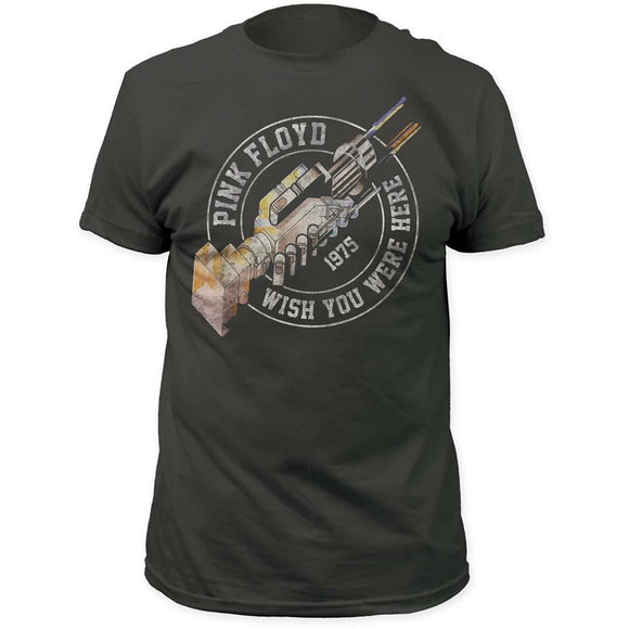 Pink Floyd Wish You Were Here '75 T-Shirt - shop.AxeDr.com - Best Band T-Shirts, Vintage Rock and Roll T Shirts, Metal Band T-Shirts, Punk T Shirts - Men's T-Shirts