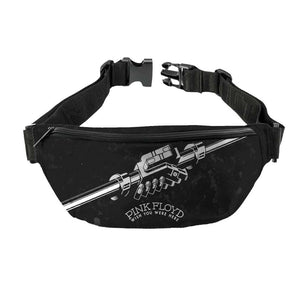 Pink Floyd Wish You Were Here Black and White Fanny Pack - shop.AxeDr.com - Best Band T-Shirts, Vintage Rock and Roll T Shirts, Metal Band T-Shirts, Punk T Shirts - Fanny Packs