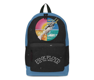 Pink Floyd Wish You Were Here Color Classic Backpack - shop.AxeDr.com - Best Band T-Shirts, Vintage Rock and Roll T Shirts, Metal Band T-Shirts, Punk T Shirts - Backpacks
