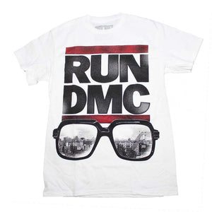 Run DMC Glasses NYC T-Shirt - shop.AxeDr.com - Best Band T-Shirts, Vintage Rock and Roll T Shirts, Metal Band T-Shirts, Punk T Shirts - Men's T-Shirts