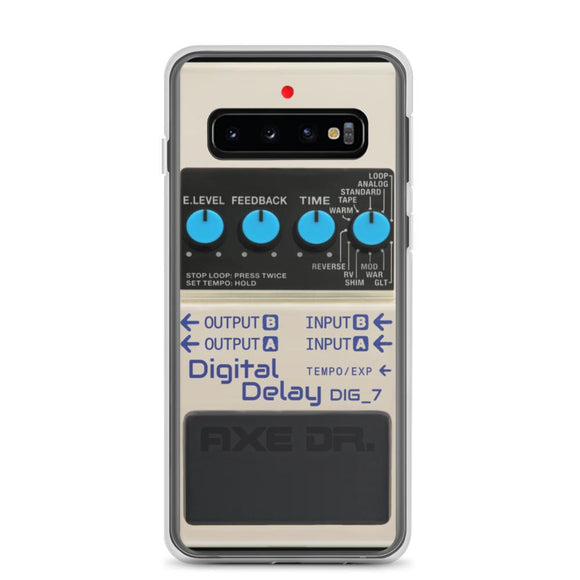 Samsung Galaxy S10 Digital Delay Pedal Phone Case