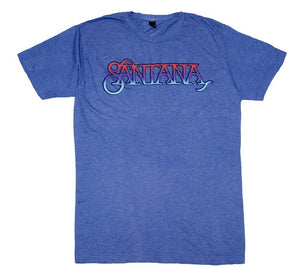 Santana Ombre Logo T-Shirt - shop.AxeDr.com - Best Band T-Shirts, Vintage Rock and Roll T Shirts, Metal Band T-Shirts, Punk T Shirts - Men's T-Shirts