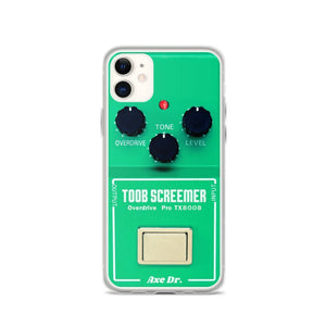 Screemer FX Pedal iPhone Case - shop.AxeDr.com - Best Band T-Shirts, Vintage Rock and Roll T Shirts, Metal Band T-Shirts, Punk T Shirts - [product_type]
