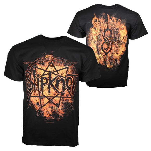 Slipknot Radio Fires T-Shirt - shop.AxeDr.com - Best Band T-Shirts, Vintage Rock and Roll T Shirts, Metal Band T-Shirts, Punk T Shirts - Men's T-Shirts