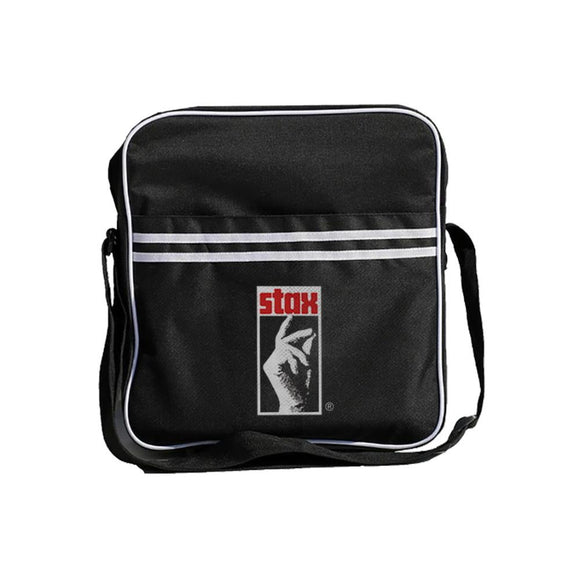 Stax Records Hand Zip Top Vinyl Record Bag - shop.AxeDr.com - Best Band T-Shirts, Vintage Rock and Roll T Shirts, Metal Band T-Shirts, Punk T Shirts - Messenger Bags