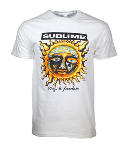 Sublime 40 oz to Freedom T-Shirt - shop.AxeDr.com - Best Band T-Shirts, Vintage Rock and Roll T Shirts, Metal Band T-Shirts, Punk T Shirts - Men's T-Shirts