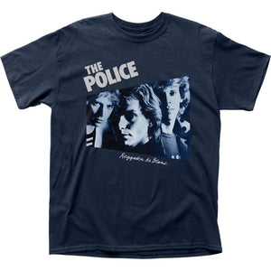 The Police Regatta De Blanc T-Shirt - shop.AxeDr.com - Best Band T-Shirts, Vintage Rock and Roll T Shirts, Metal Band T-Shirts, Punk T Shirts - Men's T-Shirts