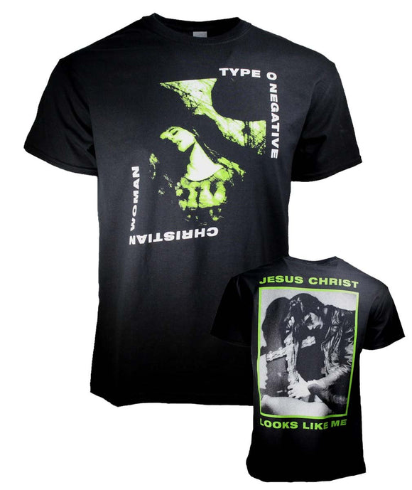 Type O Negative Christian Woman T-Shirt - shop.AxeDr.com - Best Band T-Shirts, Vintage Rock and Roll T Shirts, Metal Band T-Shirts, Punk T Shirts - Men's T-Shirts