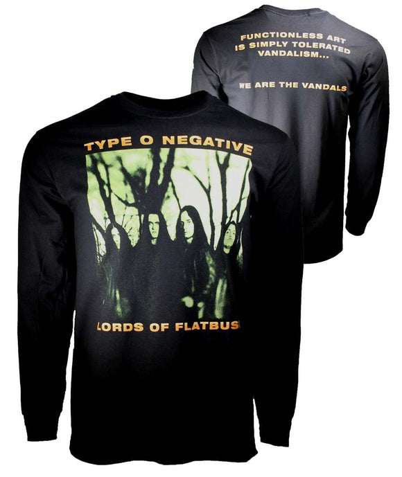 Type O Negative October Rust Long Sleeve T-Shirt - shop.AxeDr.com - Best Band T-Shirts, Vintage Rock and Roll T Shirts, Metal Band T-Shirts, Punk T Shirts - Men's T-Shirts