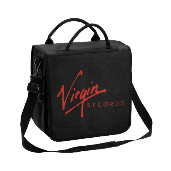Virgin Records Vinyl Record Backpack - shop.AxeDr.com - Best Band T-Shirts, Vintage Rock and Roll T Shirts, Metal Band T-Shirts, Punk T Shirts - Backpacks