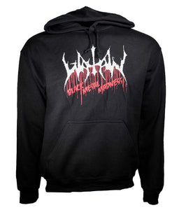 Watain Black Metal Madness Pullover Hoodie Sweatshirt - shop.AxeDr.com - Best Band T-Shirts, Vintage Rock and Roll T Shirts, Metal Band T-Shirts, Punk T Shirts - Men's Sweatshirts
